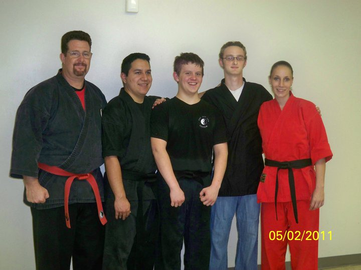 The Black Belts!